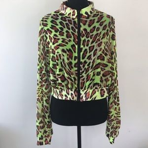 Fashion Nova Mesh Jacket